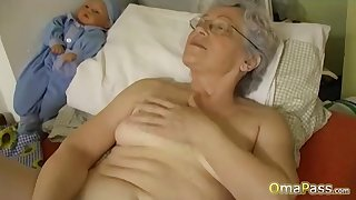 OmaPasS Big Natural Tits Played overwrought Lesbians