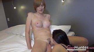 Horny Lesbian Seduced Granny Gentlefolk Compilation
