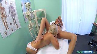 Nurse Massages Sexy Claustrophobe