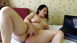 Girl Masturbating On Lesbians Video