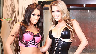 Courtney Cummz and Breanne Benson erotic lesbian lust