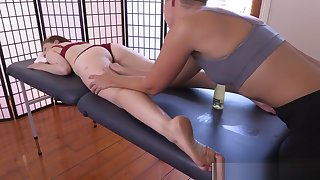 Hairy lesbians pissing and erotic massage
