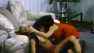 Hot lesbianss back retro film fingering and teasing back the living ground
