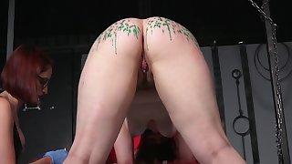 Lesbian Mistress - Wax Throes and Lashing