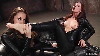 LesbianX - Tori Black And Aidra Fox The Return Be expeditious for Tori